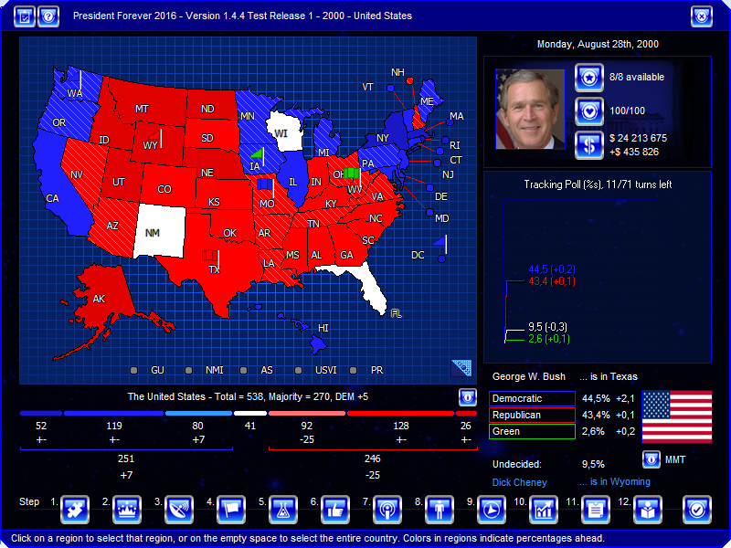 an analysis of the 2000 presidential elections in the united states The electoral college is a unique method for indirectly electing the president of the united states 2000 presidential election election results and analysis.